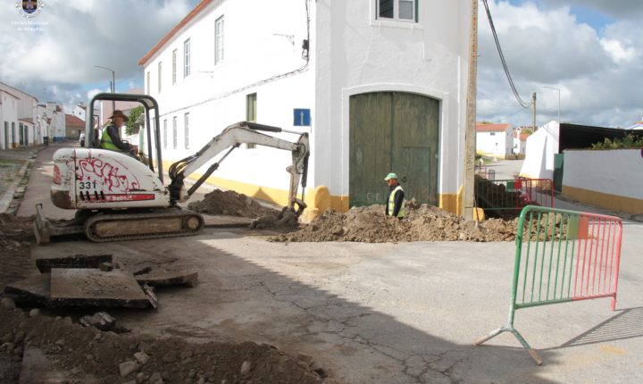 Câmara de Arraiolos inicia obras de regeneração urbana em Vimieiro