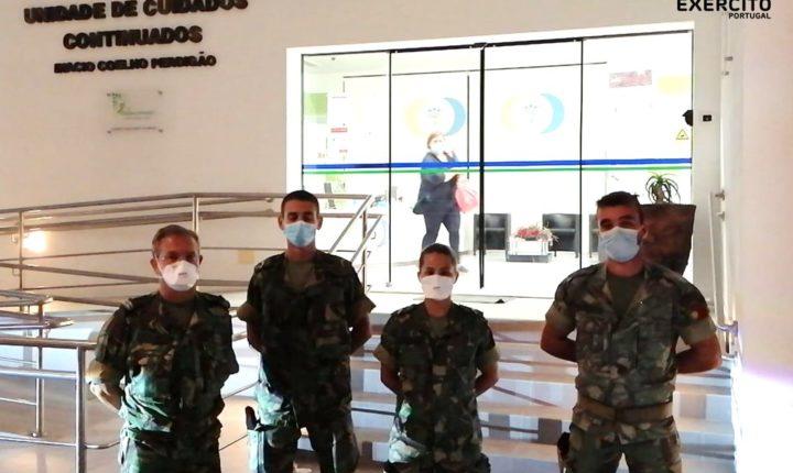 Exército apoia lar em Reguengos de Monsaraz onde foi detetado surto