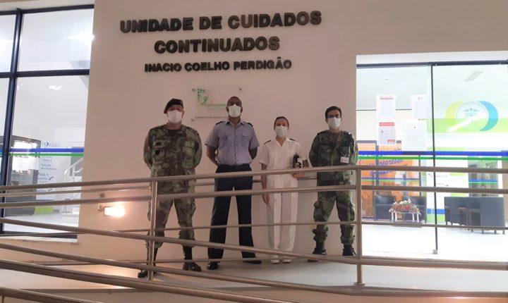 Equipas das Forças Armadas apoiam lar de Reguengos de Monsaraz