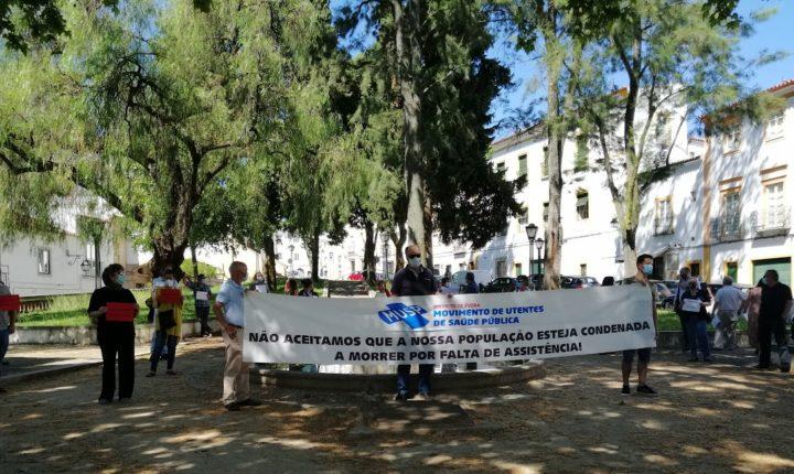 Protesto em Évora exigiu reposição dos serviços de saúde nas freguesias
