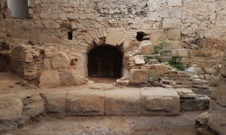 Termas Romanas de Évora com escavações arqueológicas terminadas