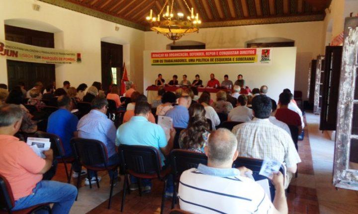 União dos Sindicatos do Distrito de Évora realiza hoje conferência