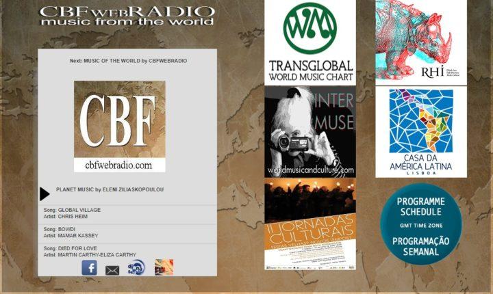 """Rádio online portuguesa de """"World Music"""" assinala 5.º aniversário"""