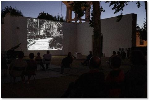Jardim em Évora transformado em sala de cinema até setembro