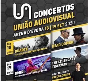 Évora vai ser palco de concerto solidário com Dead Combo e Legendary Tigerman