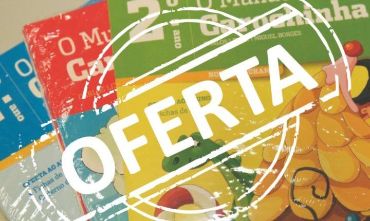 Município de Viana do Alentejo oferece cadernos de fichas aos alunos