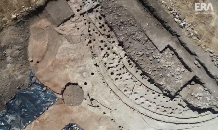 Descoberta estrutura única no Complexo dos Perdigões em Reguengos