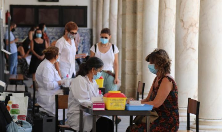 Testagem à covid-19 na Universidade de Évora não deteta casos positivos