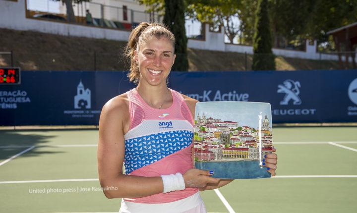 Tenista brasileira Bia Haddad Maia vence Montemor Ladies Open