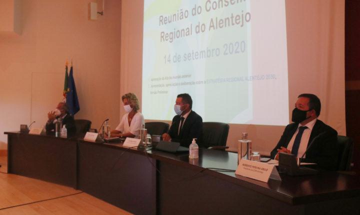 Conselho Regional do Alentejo aprova estratégica no horizonte 2030