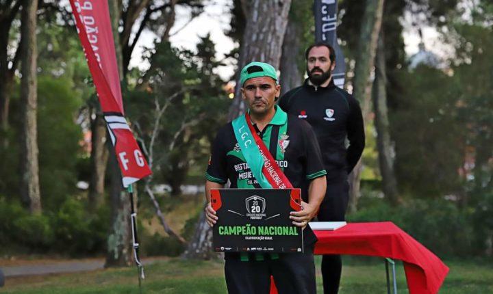 Pedro Brito sagra-se bicampeão nacional de footgolf