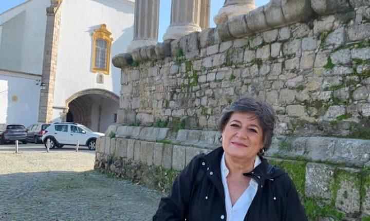 Candidata presidencial Ana Gomes preocupada com desemprego no Alentejo