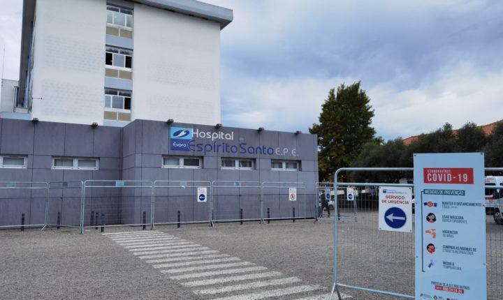 Hospital de Évora tem unidade de cuidados intensivos cheia