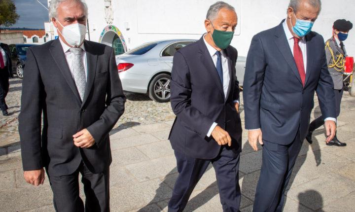 Presidente da República almoça com empresários da restauração em Évora