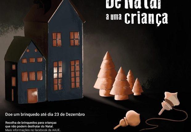Estudantes de Évora recolhem brinquedos para crianças