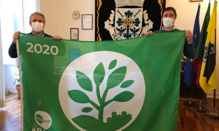 """Alandroal """"reconquista"""" da Bandeira Verde Eco XXI"""