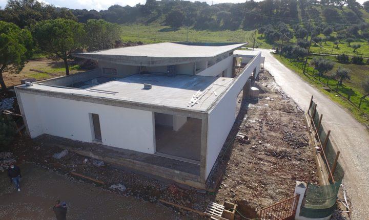 Câmara de Portel amplia Centro Social de Santana