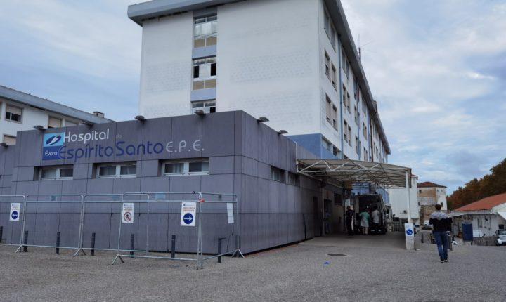 Hospital de Évora com mais de 100 doentes com covid-19 internados