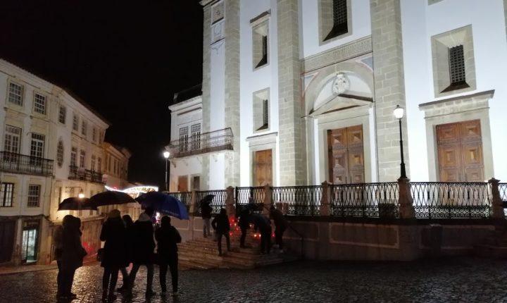 Concentração em Évora alerta para prejuízos da pandemia na restauração