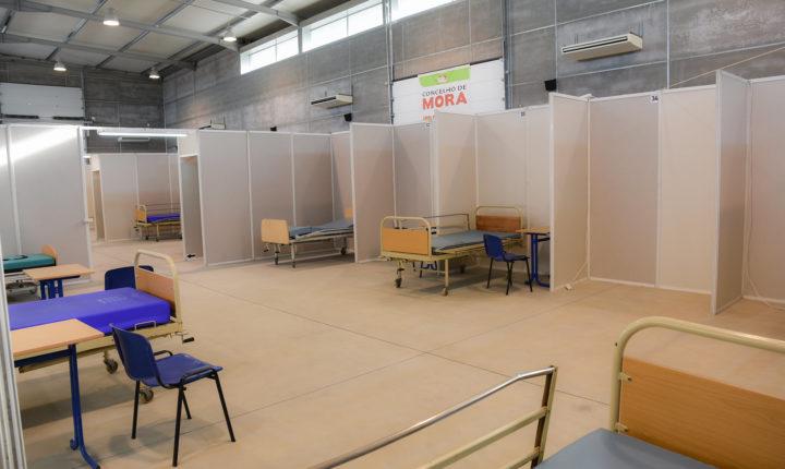 Câmara de Mora cria alojamento sanitário para doentes com covid-19