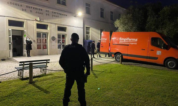Ministro ordena inquérito ao desentendimento entre GNR e PSP em Évora