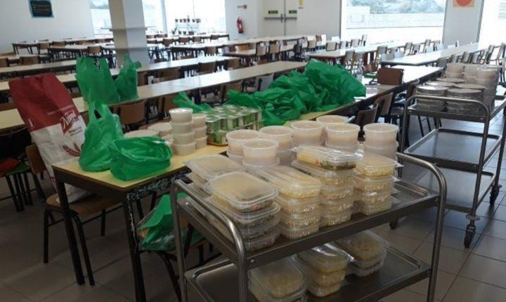Redondo distribui refeições aos alunos dos escalões A e B