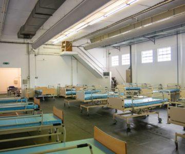 Espaço de apoio ao hospital de Évora já recebeu 28 doentes com covid-19