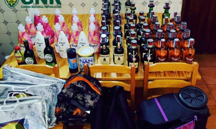 GNR deteve quatro mulheres por furto em Montemor-o-Novo