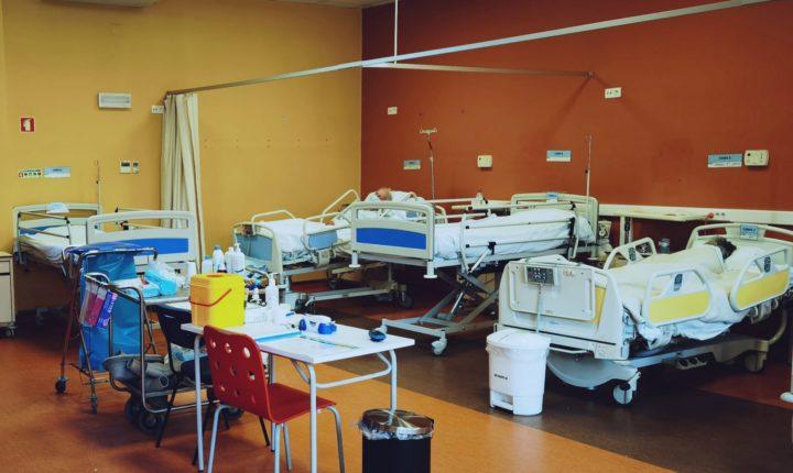 Hospital de Évora abre nova enfermaria para doentes com covid-19