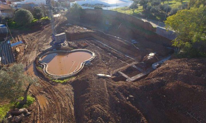 Portel retoma obras das piscinas municipais de Portel