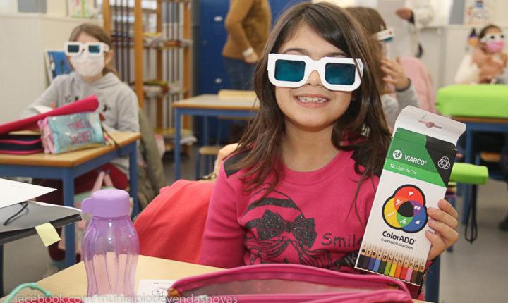 Vendas Novas integra projeto escolar para detetar daltonismo