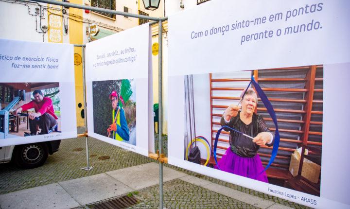 """Évora oferece fotos da exposição """" Inclusão para todos, todos na inclusão"""""""