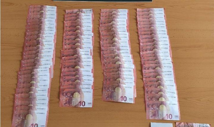 Em Santiago do Cacém foram detidos três homens com 970 euros em notas falsas