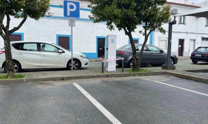 Reguengos de Monsaraz já tem em funcionamento o primeiro posto de carregamento de veículos elétricos
