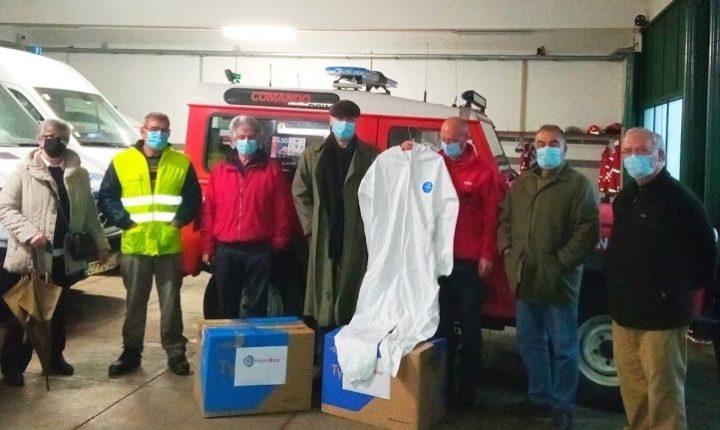 Uniões de freguesias de Évora apoiam bombeiros com 450 equipamentos