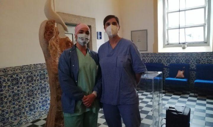 Hospital de Évora agradece apoio de profissionais de saúde do Luxemburgo