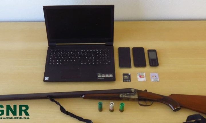 GNR deteve homem por posse ilegal de arma em Reguengos de Monsaraz