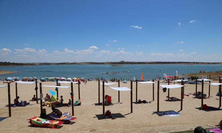 Bandeira azul para a praia fluvial de Monsaraz