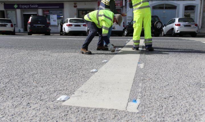 Refletores junto a passadeiras aumentam segurança rodoviária em Vendas Novas