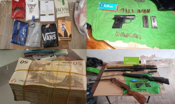 ASAE apreende contrafação e cerca de 30 mil euros em dinheiro em Portalegre
