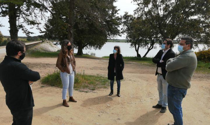 Deputado do PCP eleito por Évora realiza visita dedicada à água