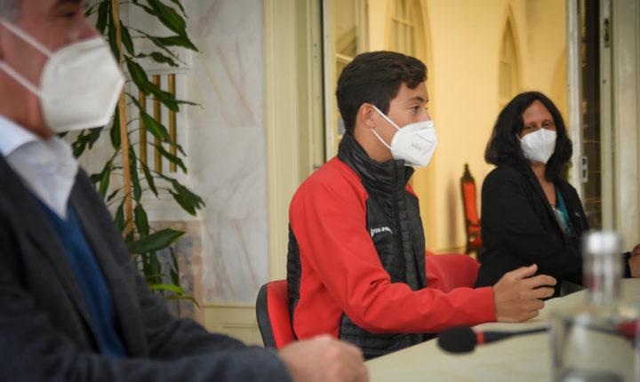 Câmara de Évora homenageia esquiador José Cabeça