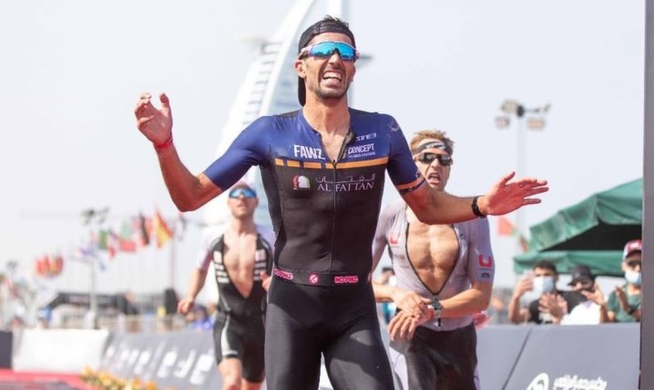 Eborense Filipe Azevedo subiu ao pódio do Ironman 70.3 Dubai