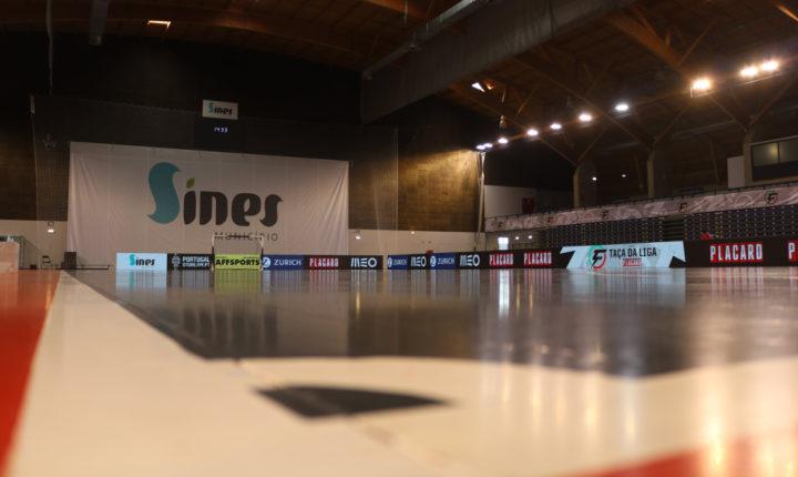 Sines foi a capital da Taça da Liga de futsal