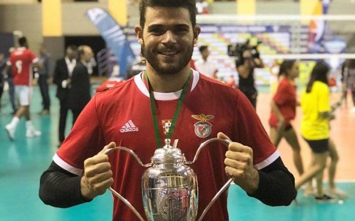 Alentejano Miguel Sinfrónio sagrou-se Campeão Nacional em voleibol