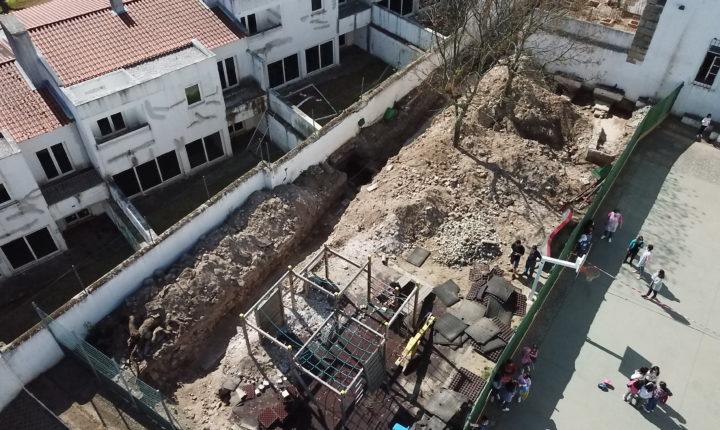 Encontradas fundações de 14 capelas de mosteiro parcialmente demolido em Évora