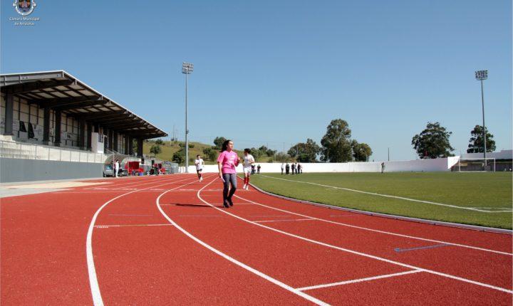 Estádio municipal em Arraiolos com pista de atletismo e novos equipamentos