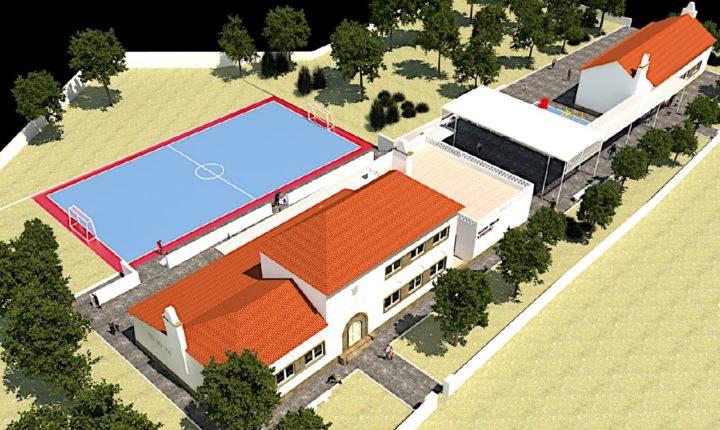 Câmara de Arraiolos requalifica escola básica de Vimieiro