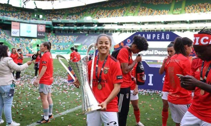 Alentejana Beatriz Cameirão campeã nacional pelo Sport Lisboa e Benfica