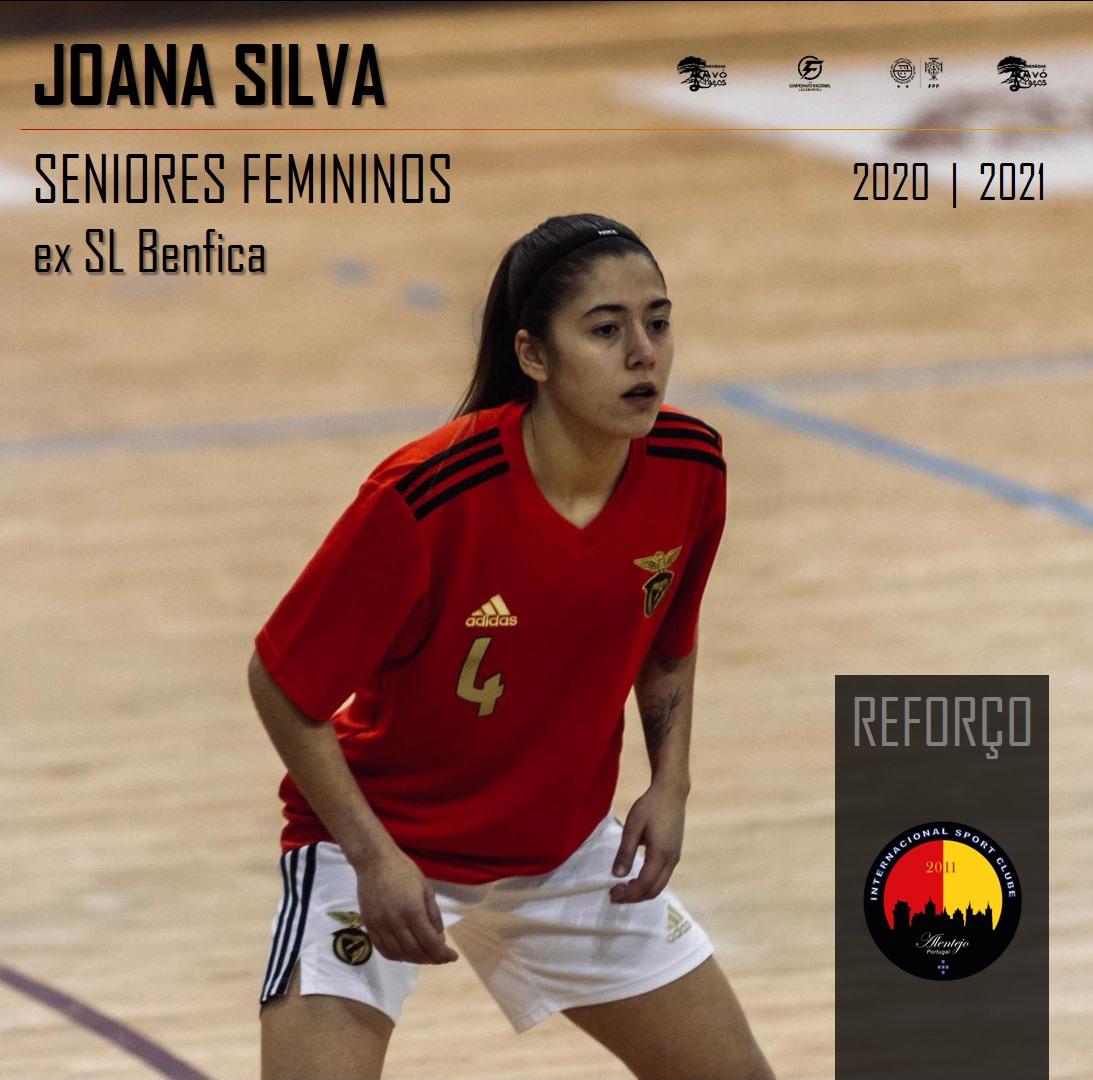 Joana Silva ex-Benfica reforça futsal do Internacional Sport Clube